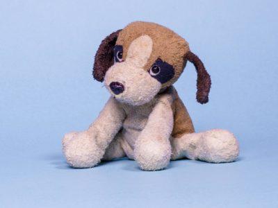 Stofftierhund
